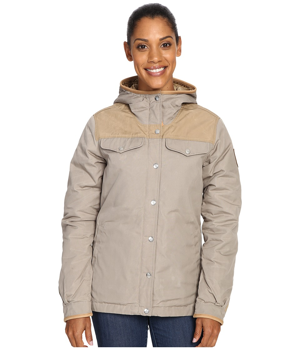 Fj llr ven - Greenland No. 1 Down Jacket (Fog/Sand) Women's Coat