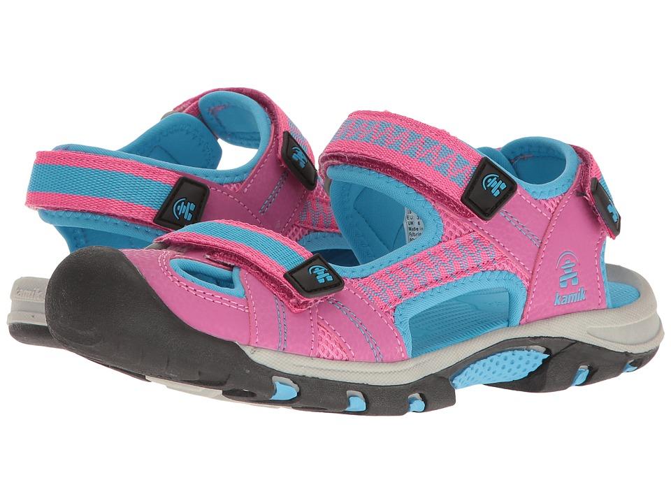 Kamik Kids Jetty 2 (Little Kid/Big Kid) (Magenta) Girls Shoes
