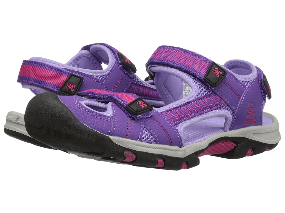 Kamik Kids Jetty 2 (Little Kid/Big Kid) (Purple) Girls Shoes