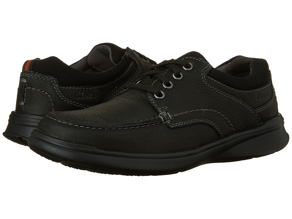 Clarks Cotrell Edge (Black Oily Leather) Men