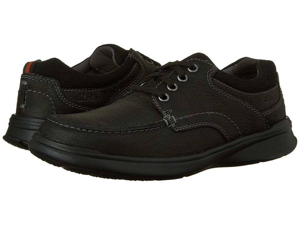 Clarks Cotrell Edge (Black Oily Leather) Men
