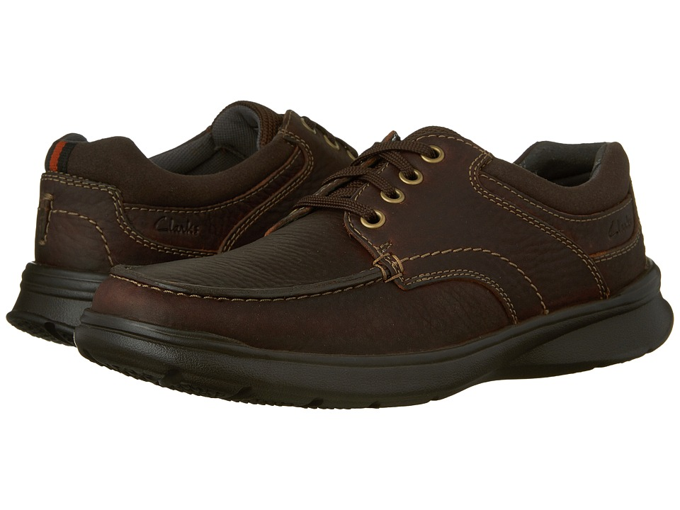 Clarks - Cotrell Edge (Brown Oily Leather) Men's Shoes