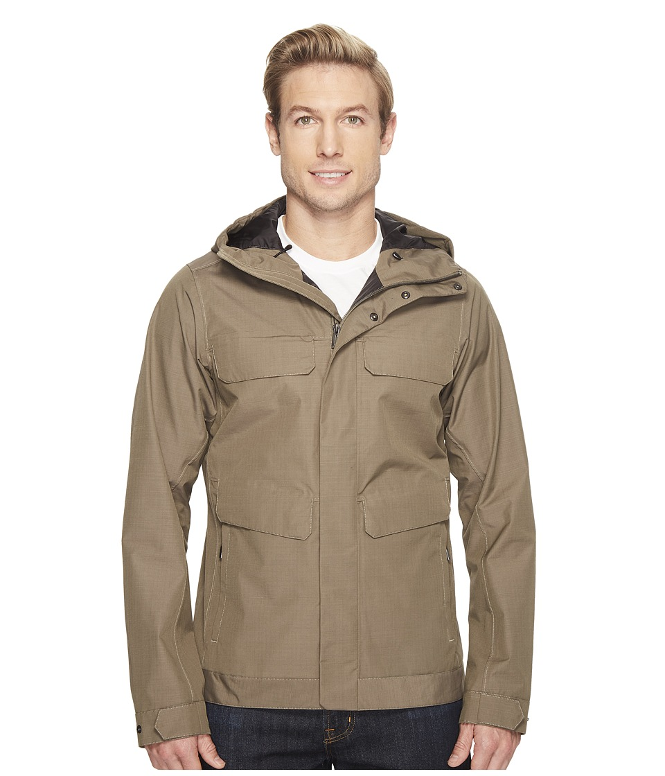 NAU - Quintessenshell Jacket (Vetiver) Men's Coat