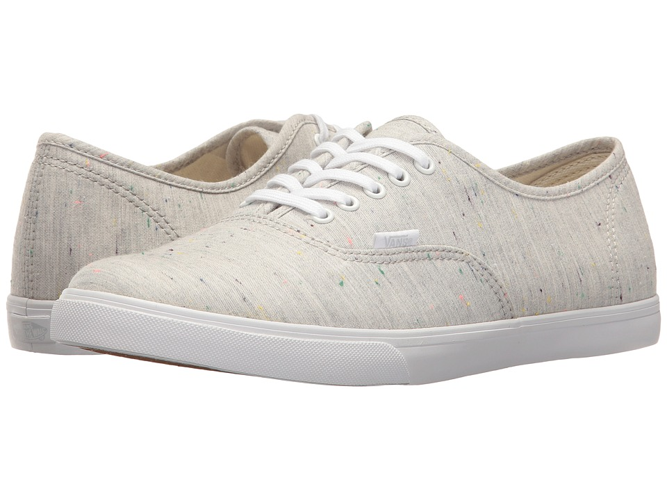 Vans - Authentictm Lo Pro ((Speckle Jersey) Pink/True White) Skate Shoes