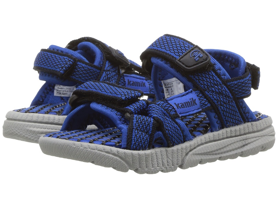 Kamik Kids Match (Toddler) (Navy/Blue) Boys Shoes