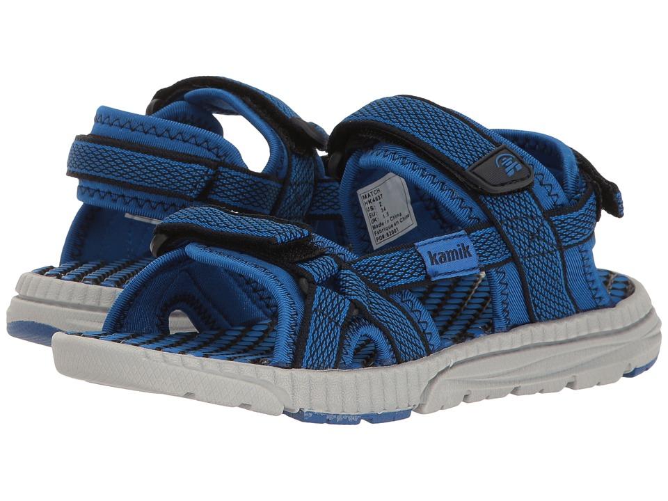 Kamik Kids Match (Little Kid/Big Kid) (Navy/Blue) Boys Shoes