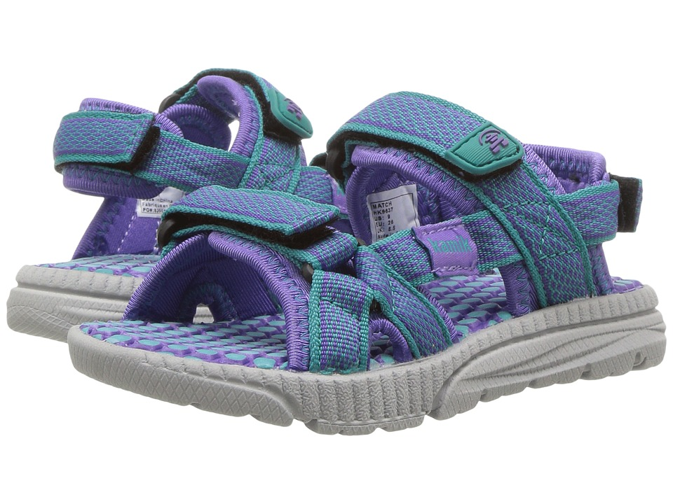 Kamik Kids - Match (Toddler) (Teal) Girls Shoes