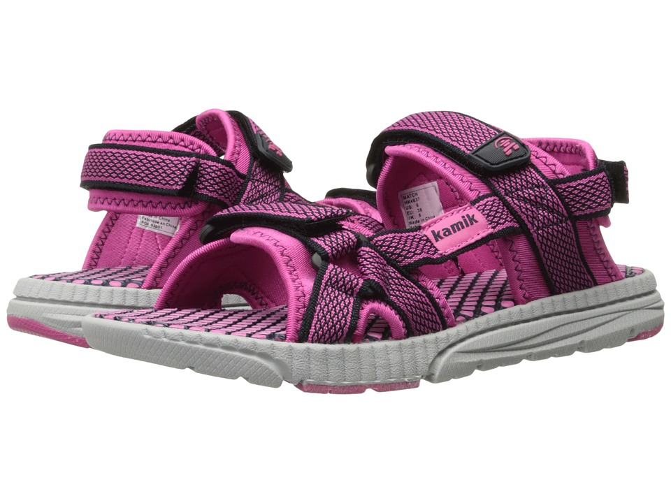 Kamik Kids - Match (Little Kid/Big Kid) (Navy/Magenta) Girls Shoes