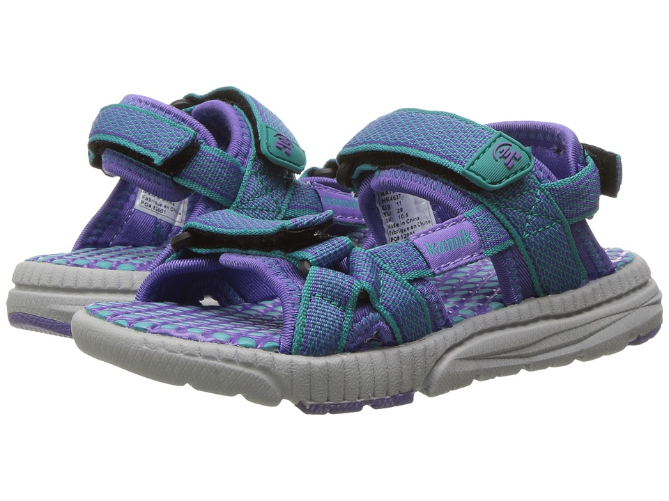 Kamik Kids - Match (Little Kid/Big Kid) (Teal) Girls Shoes