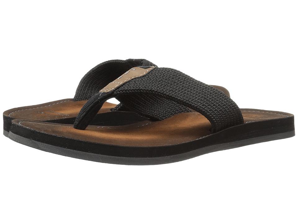Clarks - Lacono Beach (Black) Men's Shoes