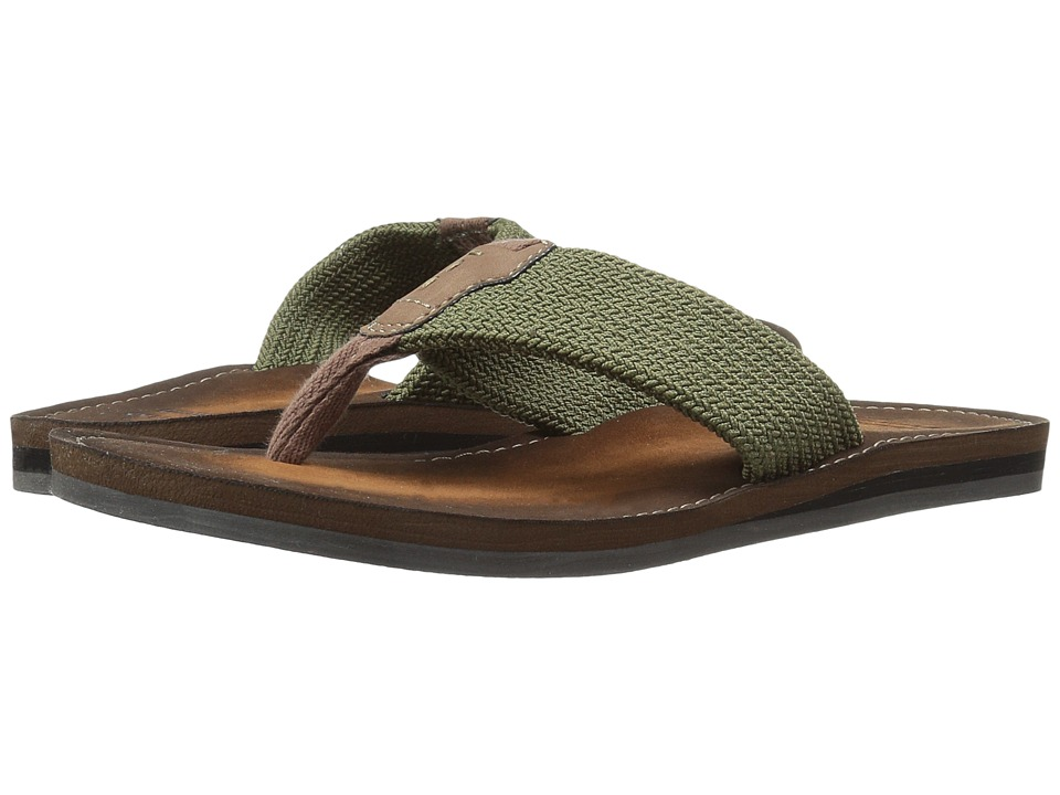Clarks Lacono Beach (Olive) Men