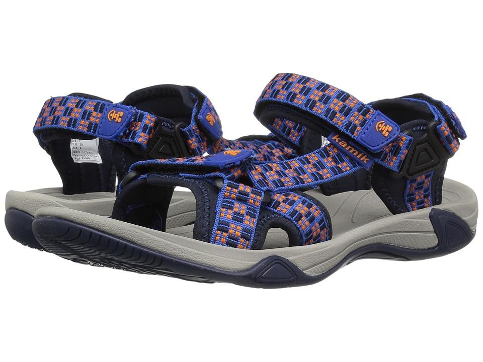 Kamik Kids Lowtide 2 (Little Kid/Big Kid) (Strong Blue) Boys Shoes