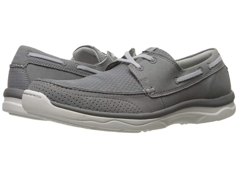 Clarks - Marus Edge (Grey Synthetic) Men's Shoes