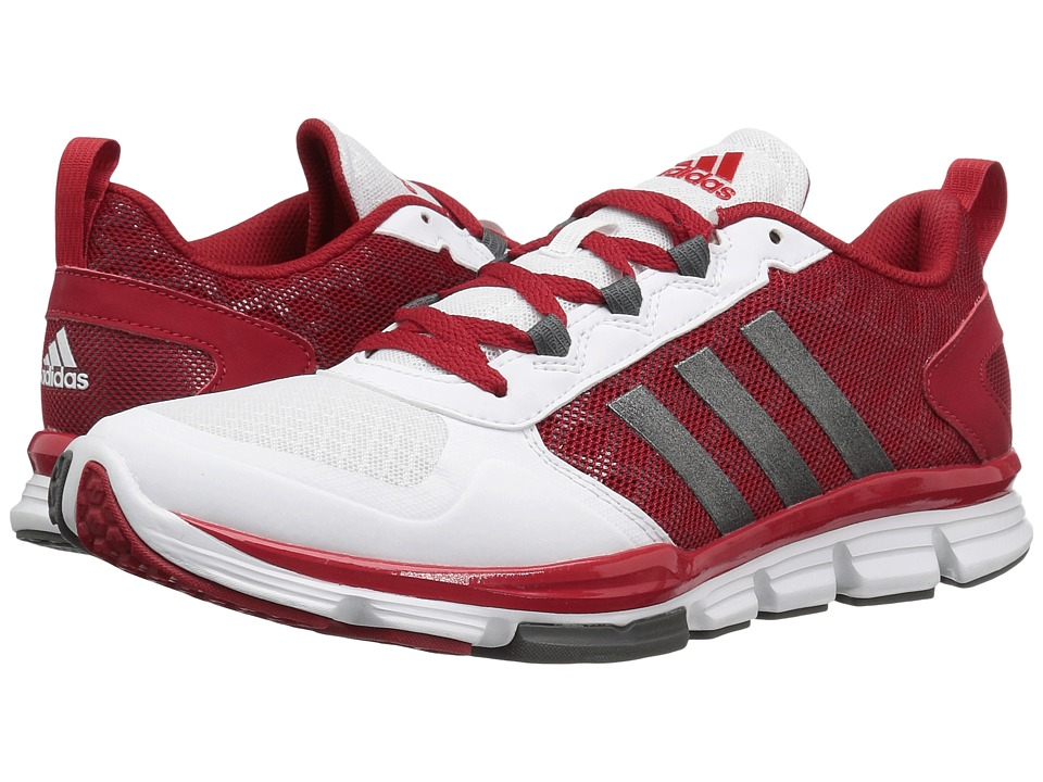 adidas - Speed Trainer 2 (Power Red/Carbon Metallic/White) Men's Shoes