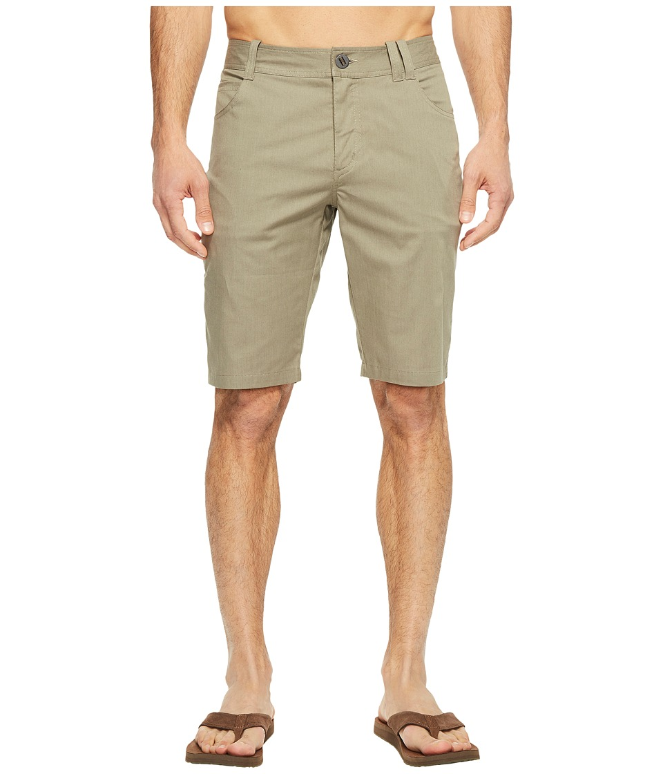 NAU - Stretch Motil Five-Pocket Shorts (Vetiver Heather) Men's Shorts