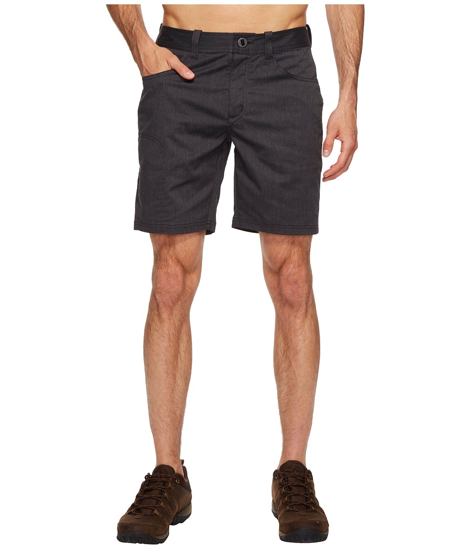 NAU - Stretch Motil Drifter Shorts (Caviar Heather) Men's Shorts