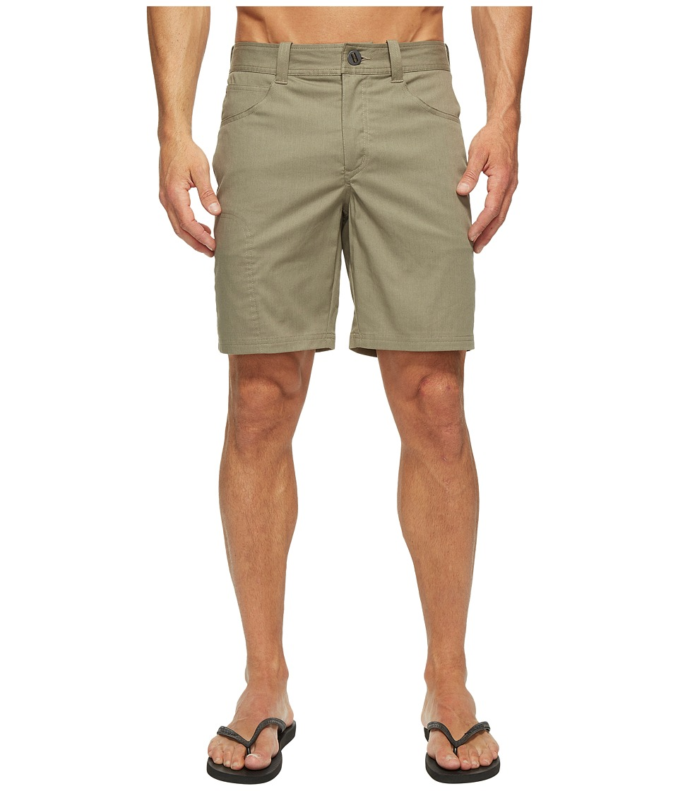 NAU - Stretch Motil Drifter Shorts (Vetiver Heather) Men's Shorts