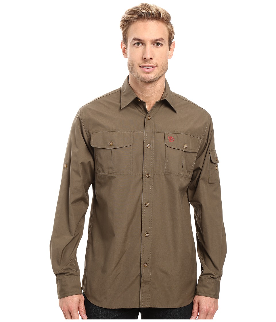 Fj llr ven - Singi Trekking Shirt (Tarmac) Men's Short Sleeve Button Up