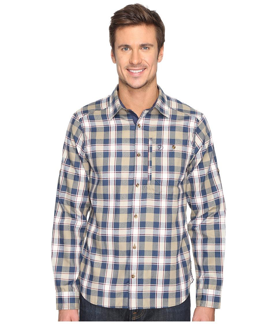 Fj llr ven - Fjallglim Shirt (Blueberry) Men's Long Sleeve Button Up