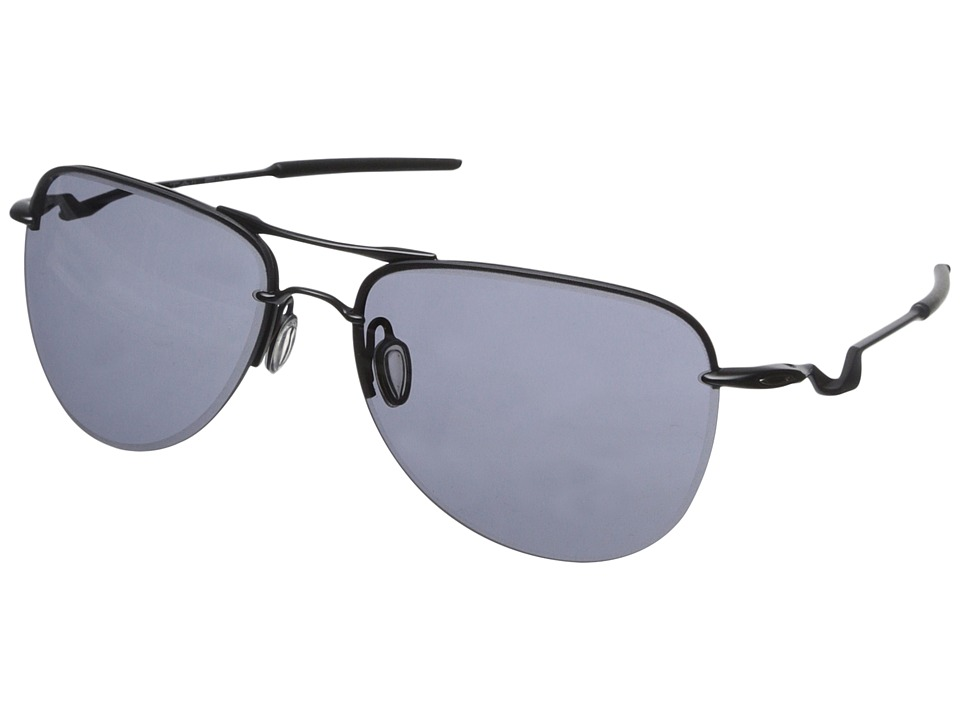 Oakley - Talipin Lead (Satin Black/Grey) Sport Sunglasses