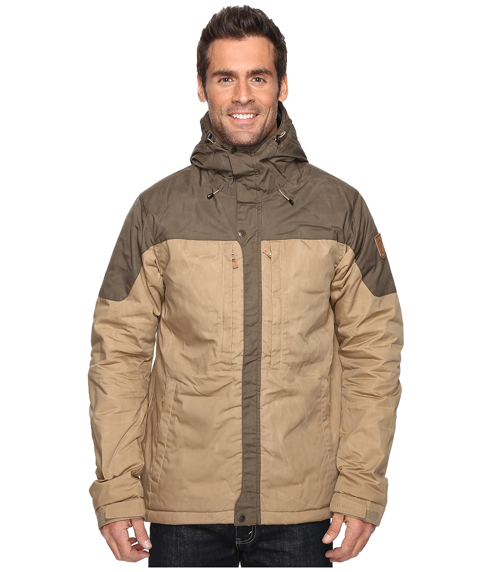 Fj llr ven - Skogso Padded Jacket (Sand/Tarmac) Men's Coat