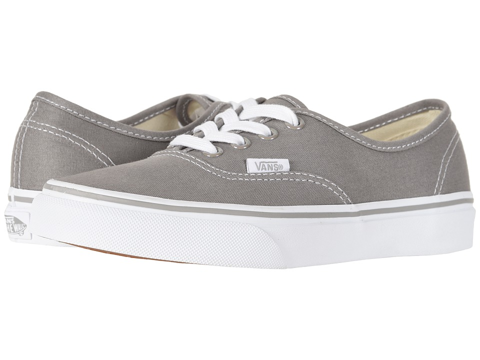 Vans - Authentictm (Drizzle/True White) Skate Shoes