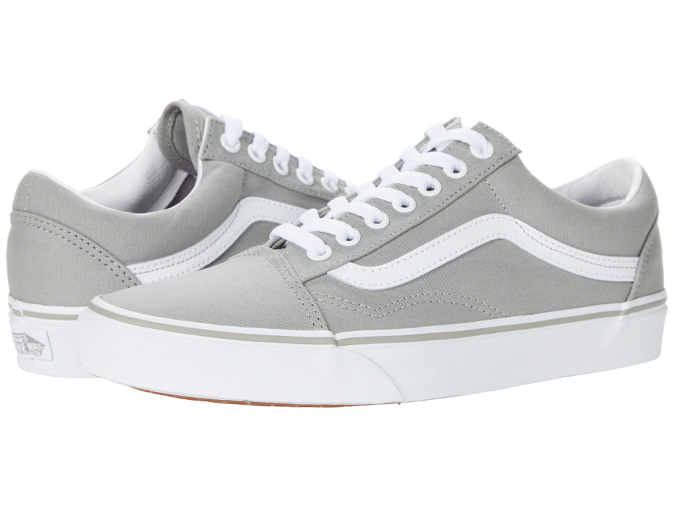 Vans - Old Skool (Drizzle/True White) Skate Shoes