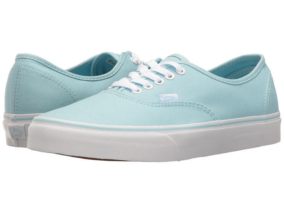 Vans - Authentictm (Crystal Blue/True White) Skate Shoes