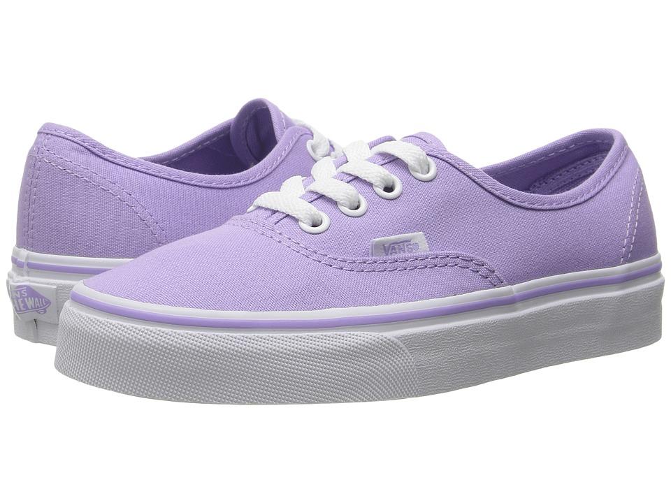 Vans - Authentictm (Lavender/True White) Skate Shoes