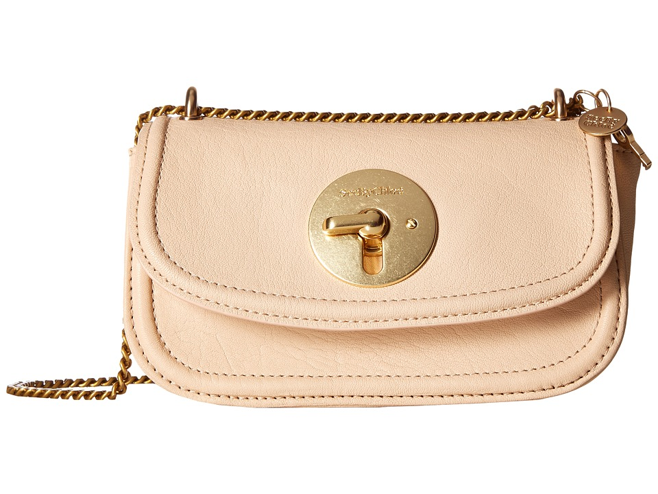 See by Chloe - Lois Mini Evening Double Carry Crossbody (Nude) Clutch Handbags