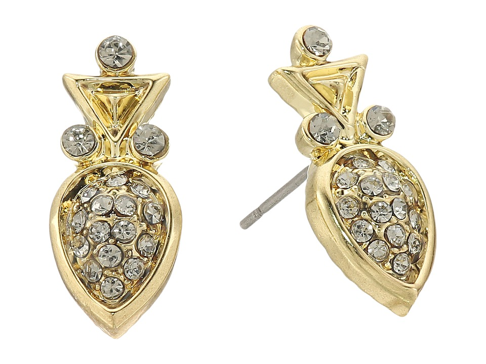 House of Harlow 1960 - The Avium Stud Earrings (Gold) Earring