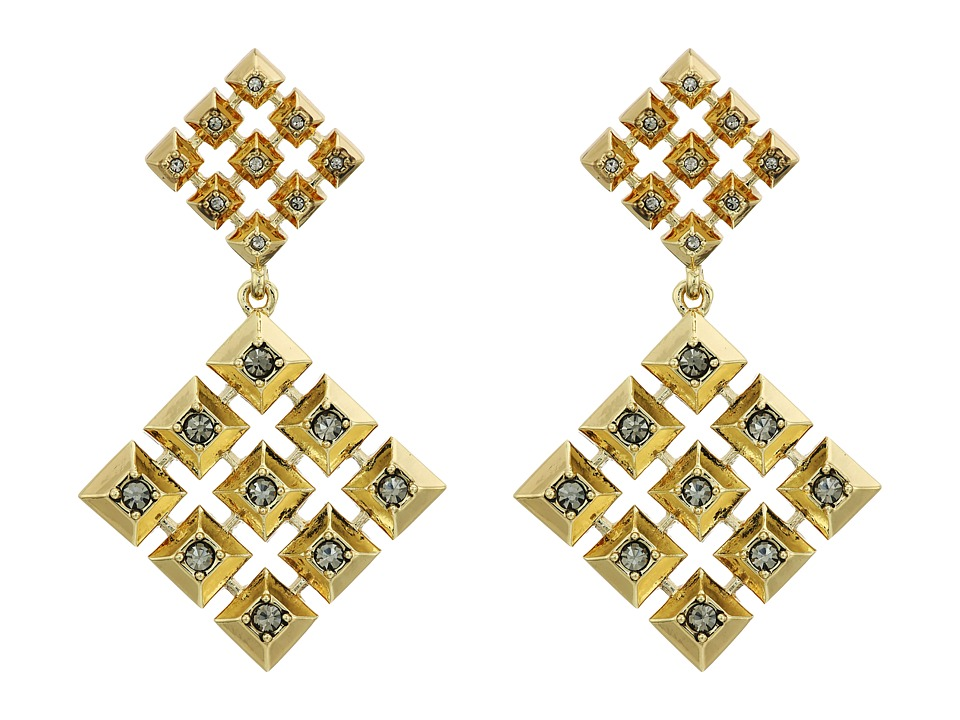 House of Harlow 1960 - The Lyra Statement Earrings (Gold) Earring