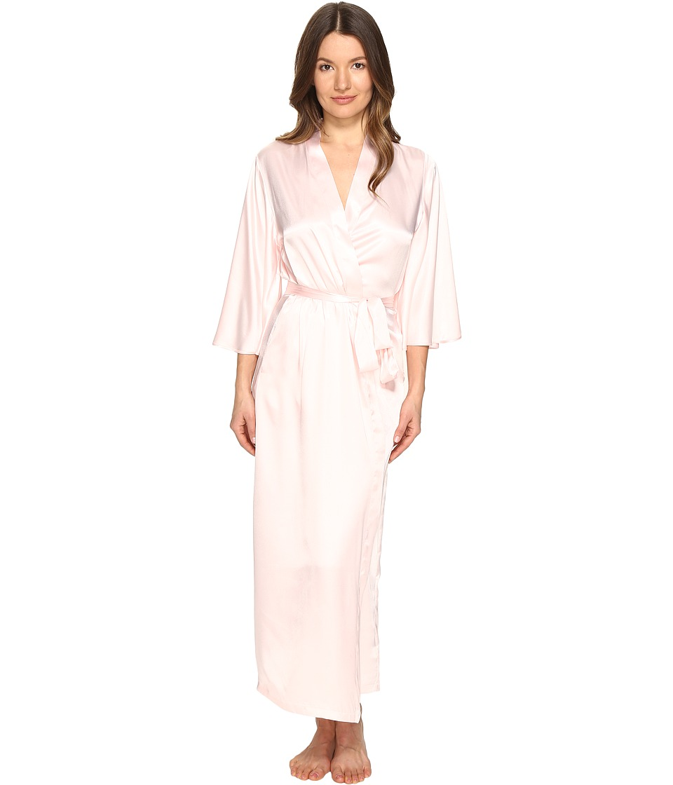 Oscar de la Renta Pink Label - 53 Silky Charmeuse Robe (Blushing Bride) Women's Robe