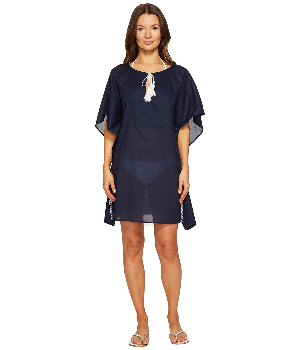 Emporio Armani - Tessuto Cover-Up (Navy) Women's Swimwear