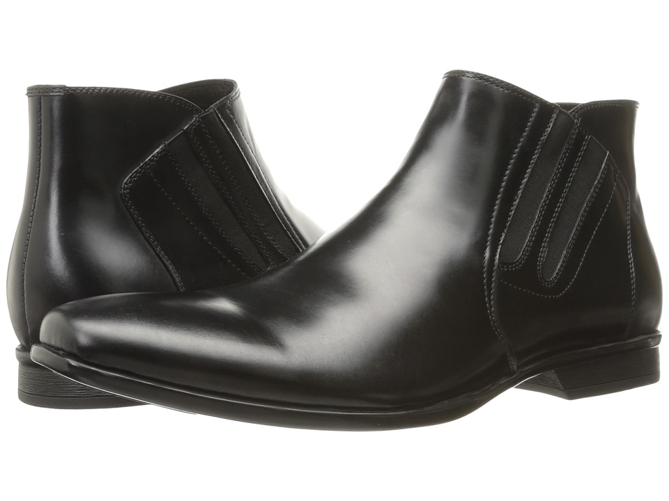 Kenneth Cole New York - Shine-y Armor Le (Black) Men's Shoes