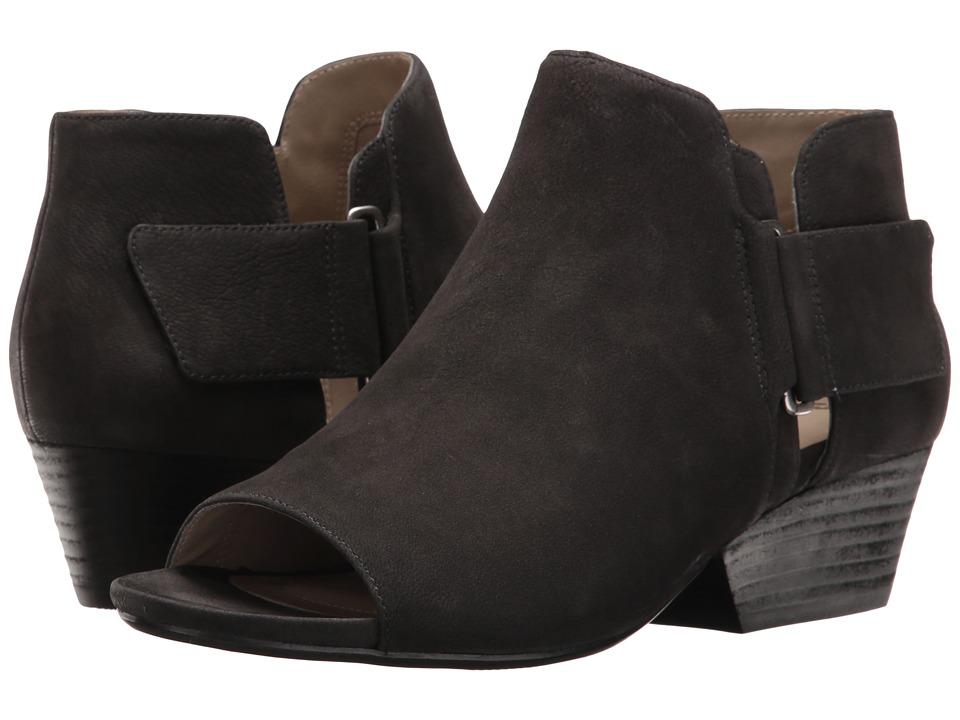 Naturalizer - Gemi (Black Nubuck) Women's Wedge Shoes