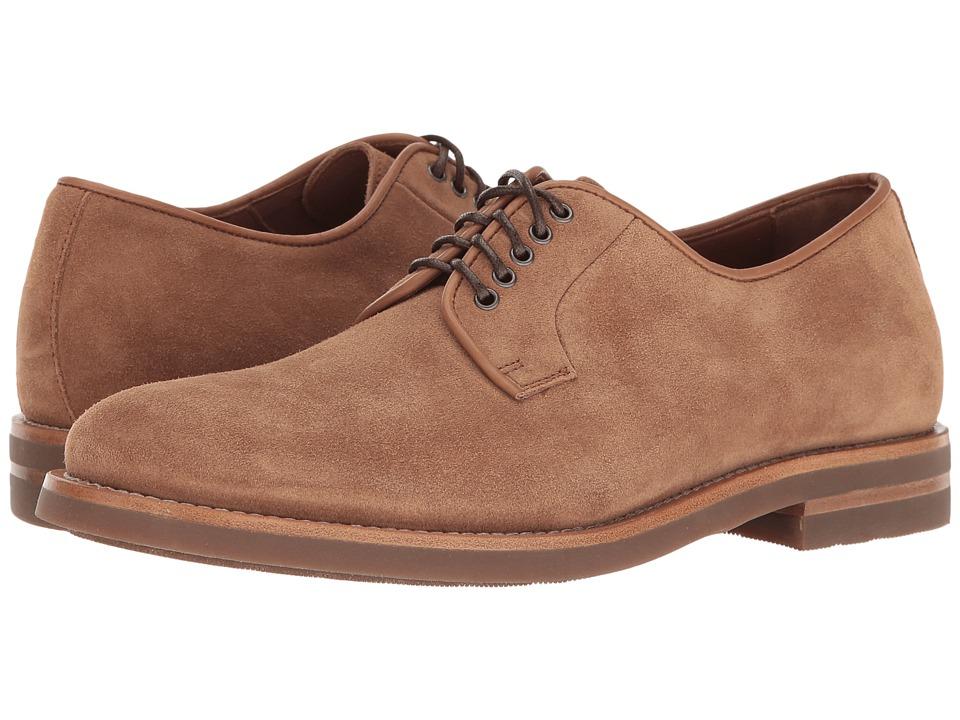 Aquatalia - Collin (Bark Dress Suede) Men's Lace up casual Shoes