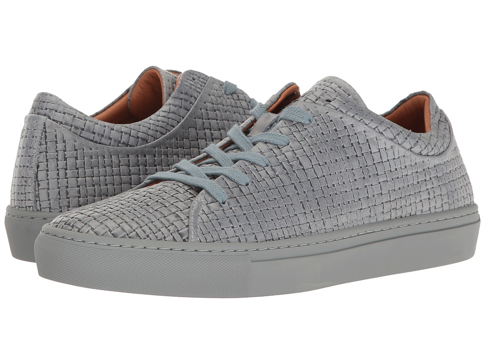 Aquatalia - Alaric (Medium Grey Embossed Calf) Men's Lace up casual Shoes