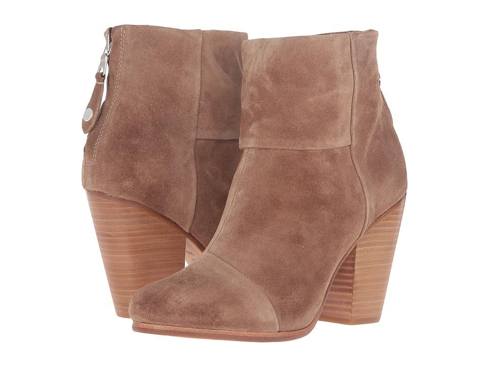 rag & bone - Classic Newbury (Camel Suede) Women's Shoes