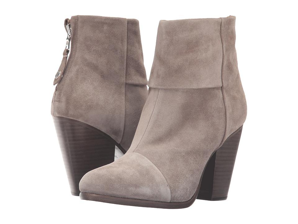rag & bone - Classic Newbury (Warm Grey Suede) Women's Shoes