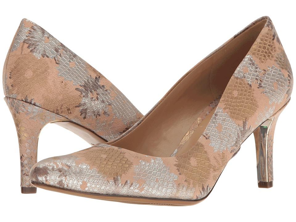 Naturalizer - Natalie (Ginger Snap Floral Print Leather) High Heels