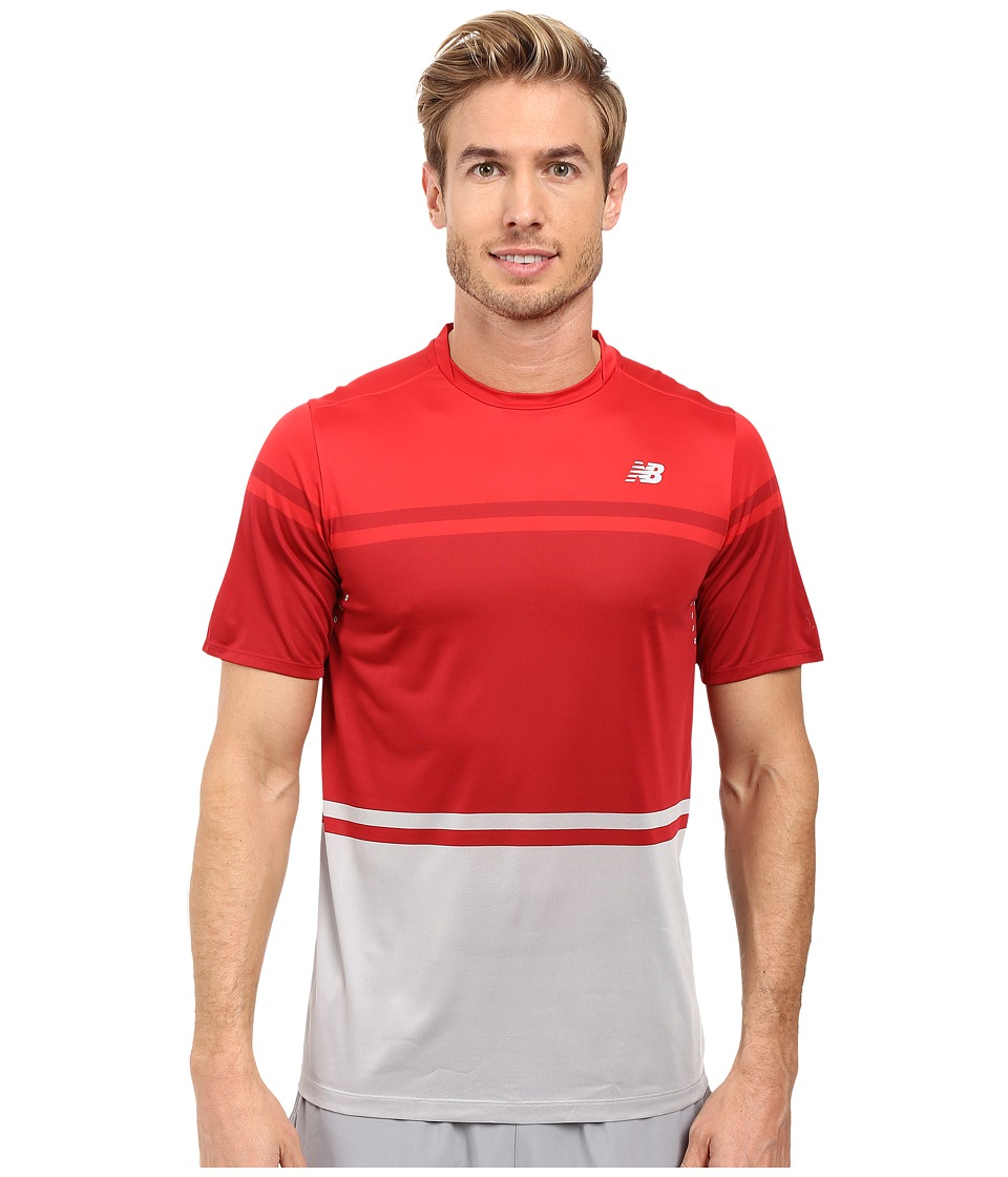 New Balance - Tournament Crew (Chinese Red) Men's Clothing