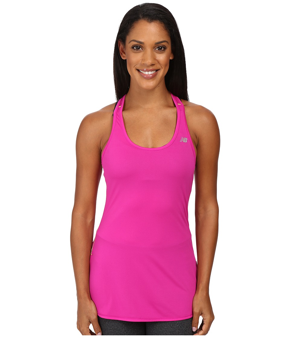 New Balance - Accelerate Tunic (Azalea) Women's Sleeveless