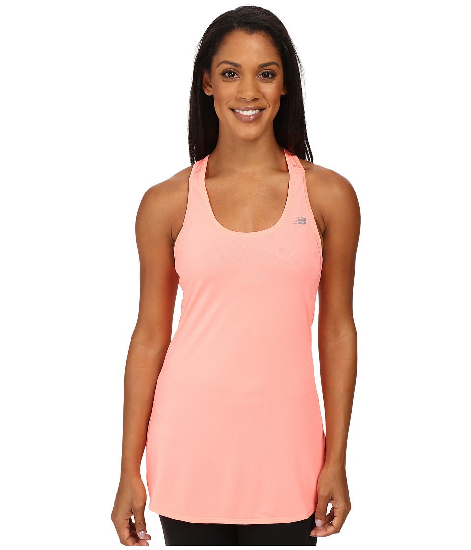 New Balance - Accelerate Tunic (Cosmic Coral) Women's Sleeveless