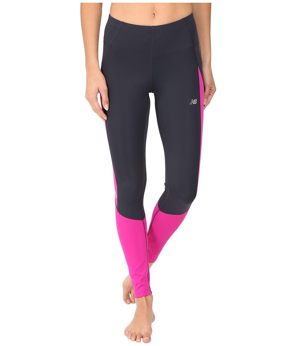 New Balance - Accelerate Tights (Azalea) Women's Casual Pants