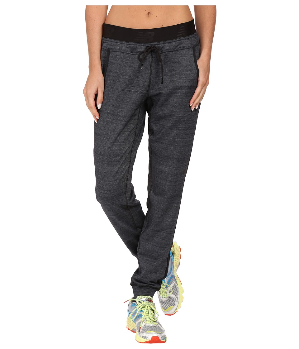 New Balance - Performance Train Pants (Black) Women's Casual Pants