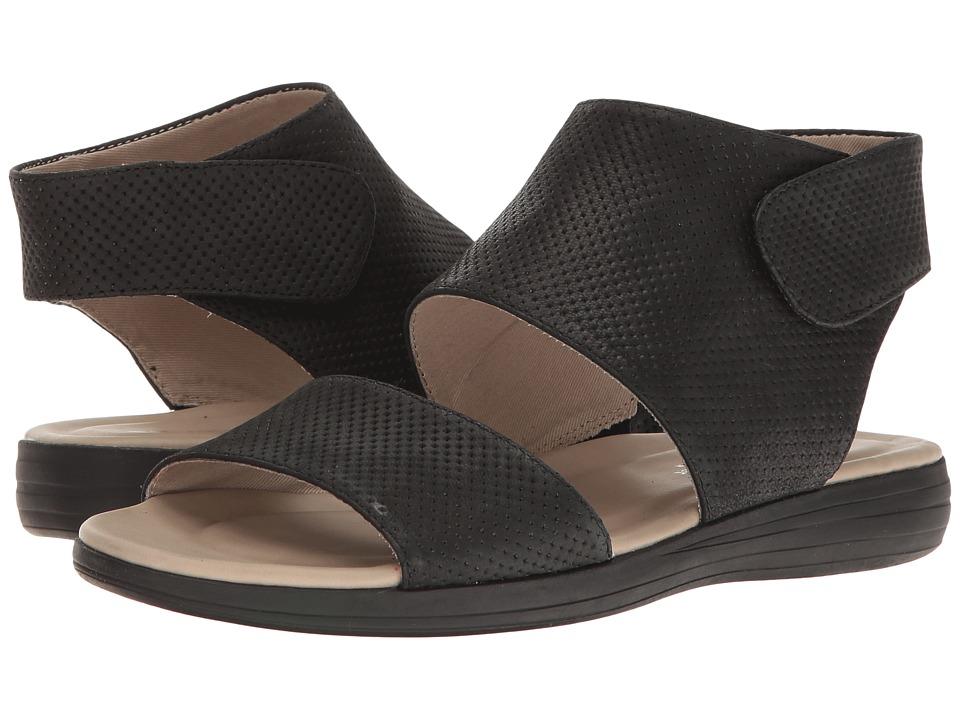 Naturalizer - Fae (Black Leather) Women's Sandals