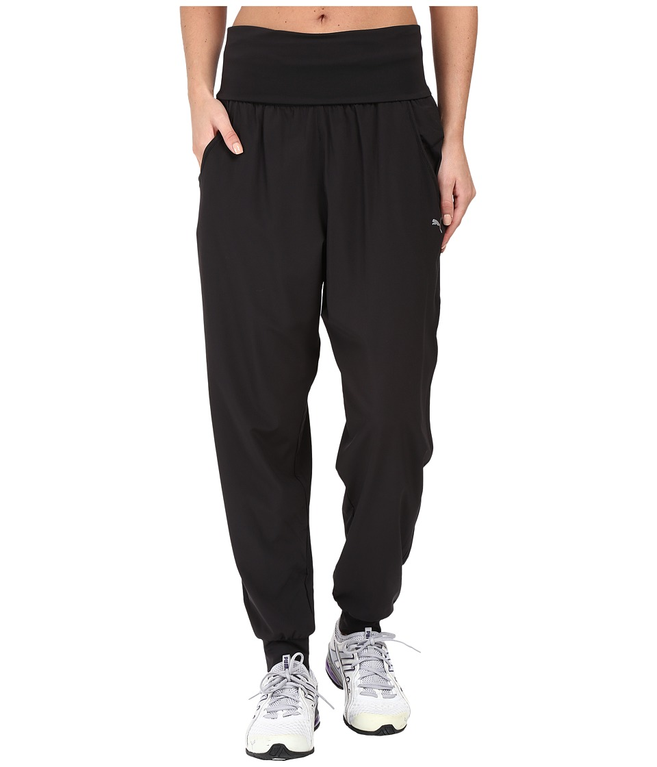 PUMA - Dancer Woven Pants (PUMA Black) Women's Casual Pants