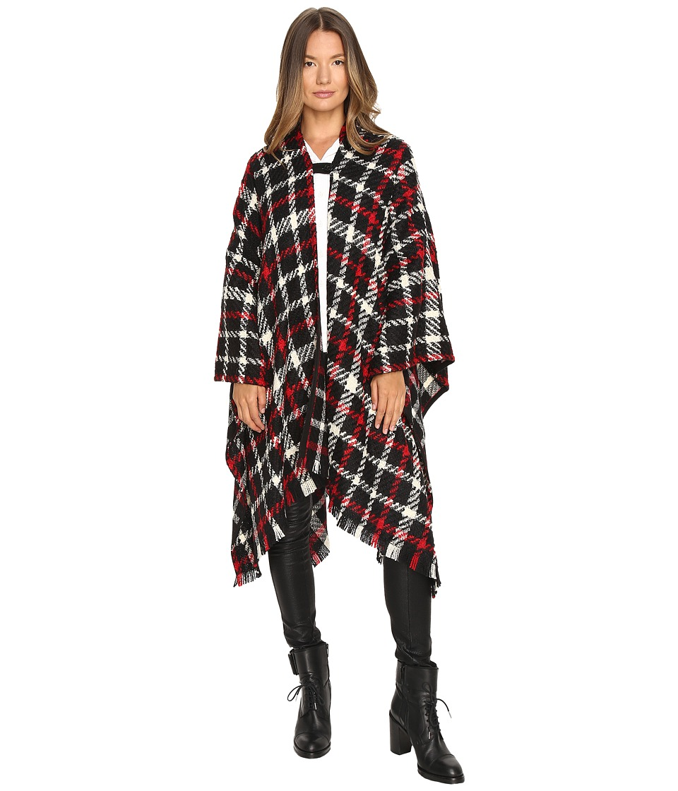 Boutique Moschino - Tartan Poncho (Printed) Women's Clothing