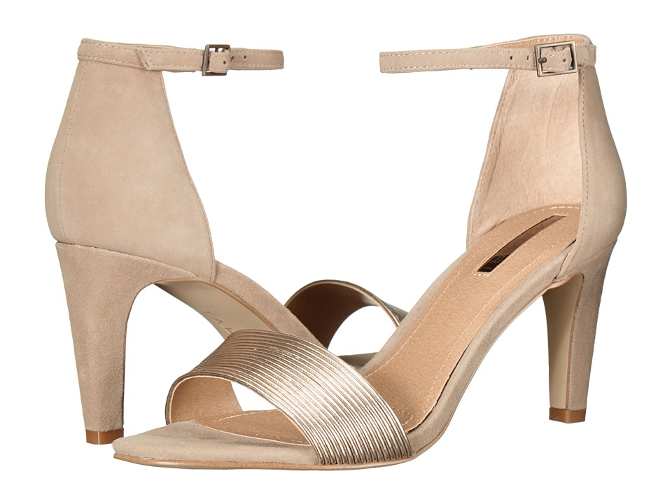 Tahari - Novel (Cab Taupe/Bronze Metallic/Suede) Women's Shoes
